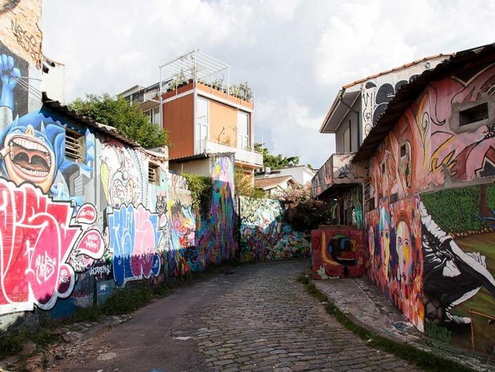 Vila Madalena, São Paulo, Brazil