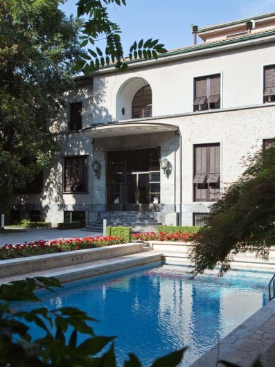 A wonderful Milanese villa to experience Italian lifestyle of mid 20th century