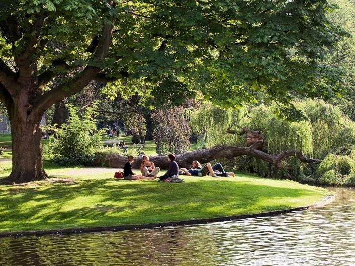 Oase der Ruhe, der Vondelpark