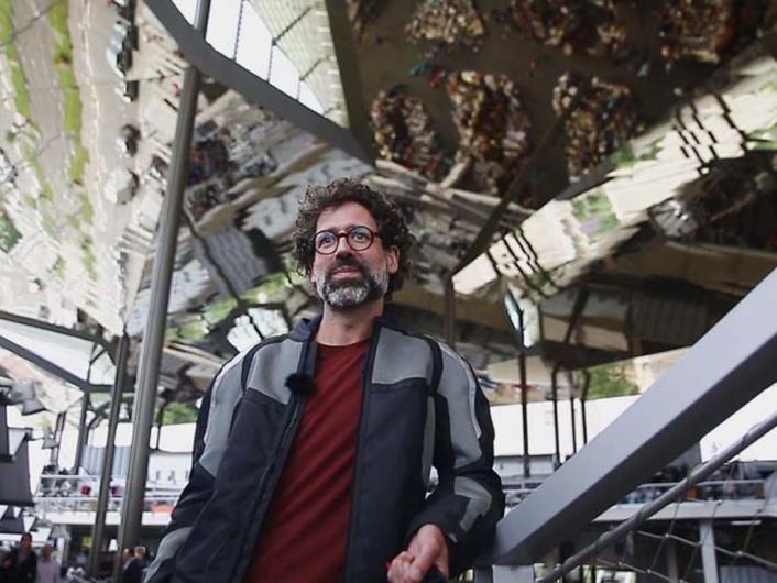 Lichtdesigner Jordi Canudas: Farbenfrohes Barcelona