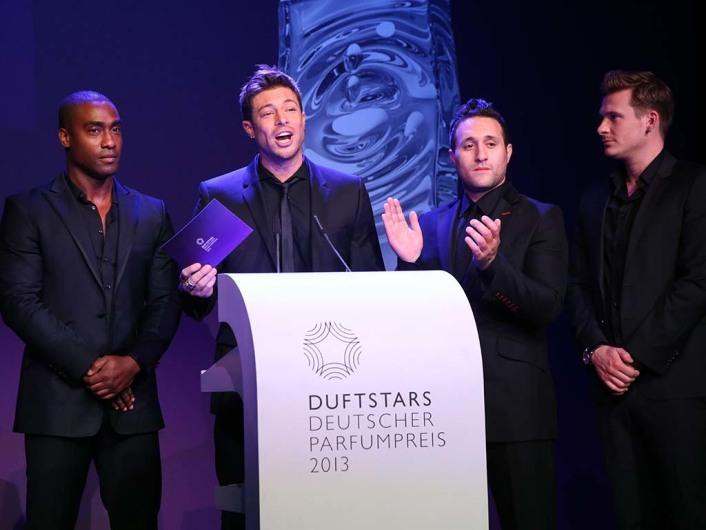 Blue21. Verleihung des Deutschen Parfumpreises DUFTSTARS 2013 im Tempodrom in Berlin am 17.05.2013AGENCY PEOPLE IMAGE(c.)MARKO GREITSCHUS