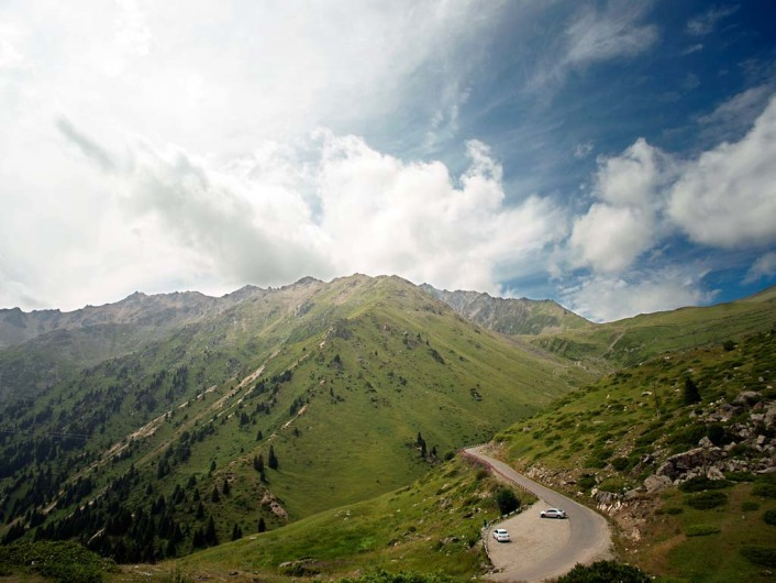 Letzte Grenze Almaty