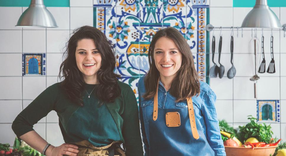 Sophie und Xenia von Oswald – das Brunch