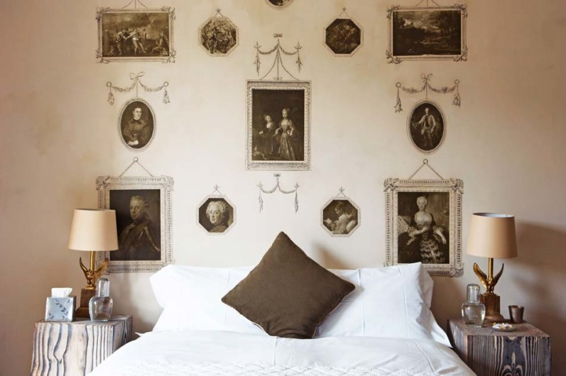 Crown room, The Old Rectory