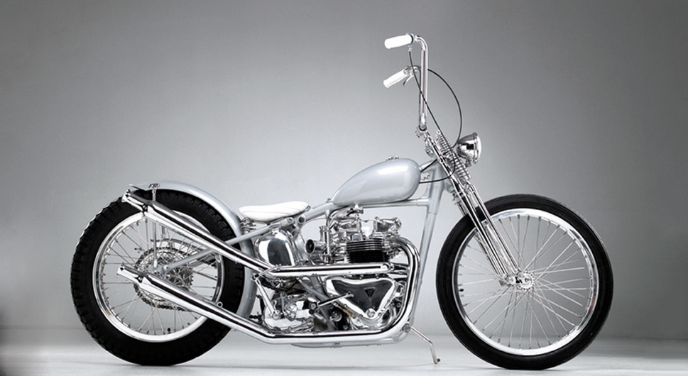 50's Customised Triumph / 50er-Jahre Triumph