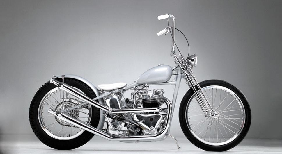 50's Customised Triumph / 50er-JahreTriumph