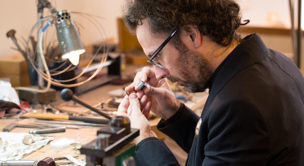 Schmuckdesigner Rembrandt Jordan