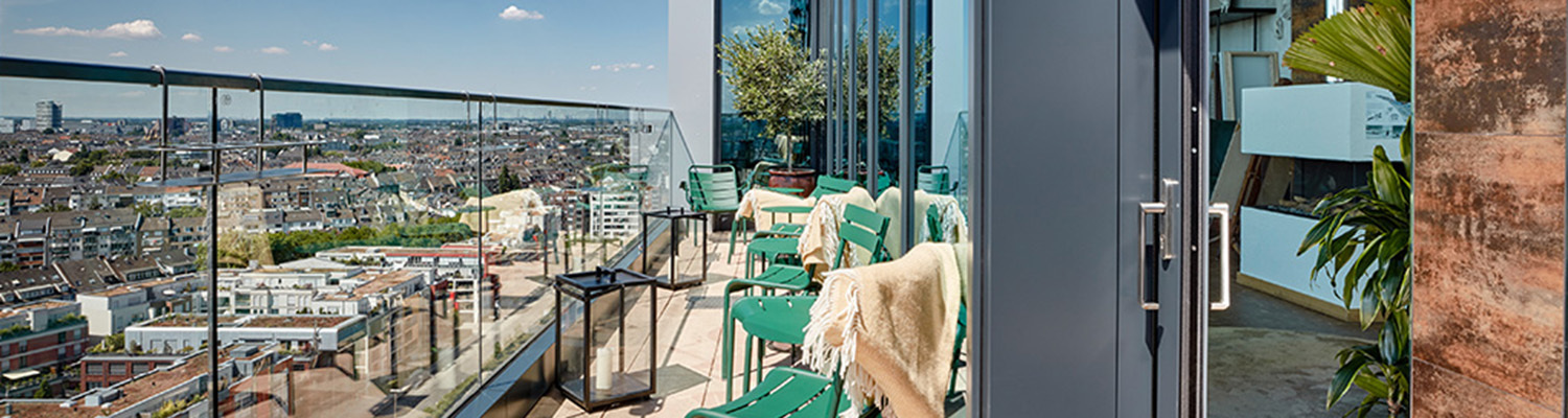"25h Hotel ""Das Tour"", terrace"