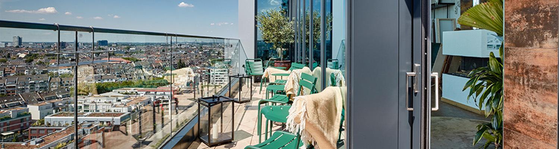 """25h Hotel """"Das Tour"""", terrace"""