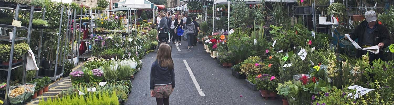 Flower Sellers on the Columbia Road