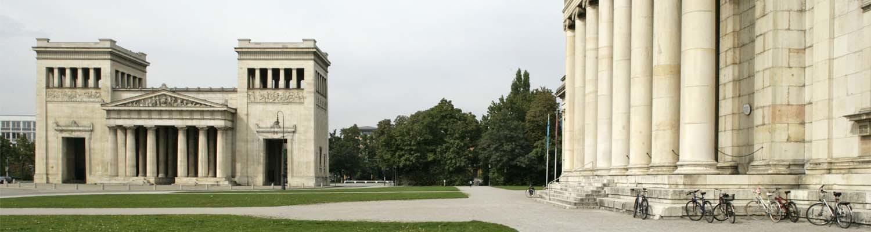 Königsplatz and Glyptothek