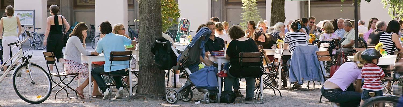 Hofgarten at Odeonsplatz