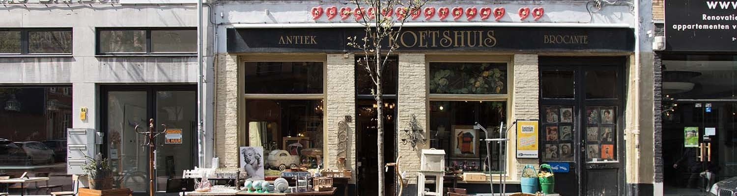 Klosterstraat Antiques and Interior Shops