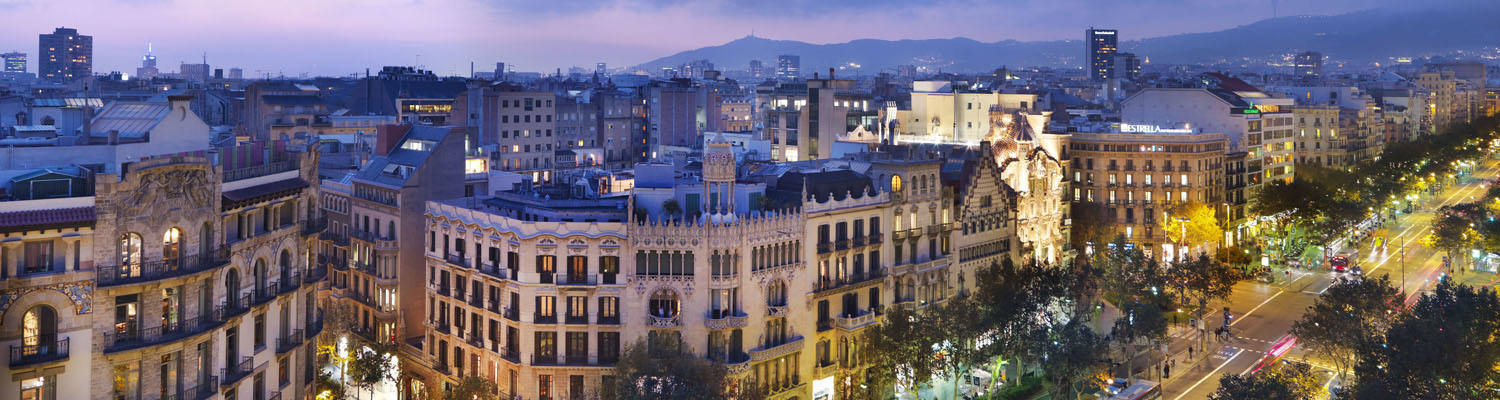 View of the Mandarin Oriental Barcelona