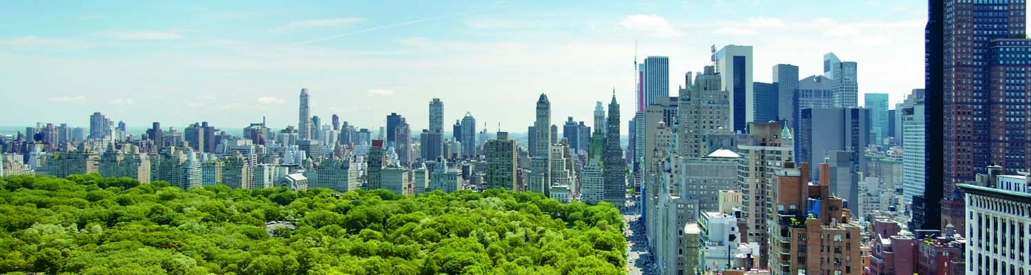 View of the Central Park from Mandarin Oriental New York