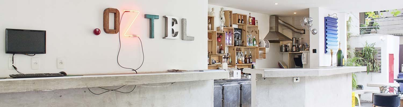 Bar at Oztel Hotel