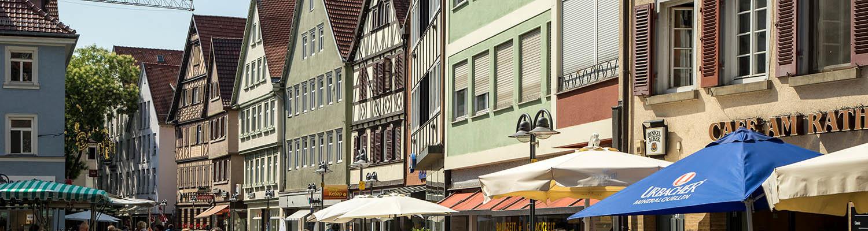 Fachwerkhäuser in Bad Cannstatt