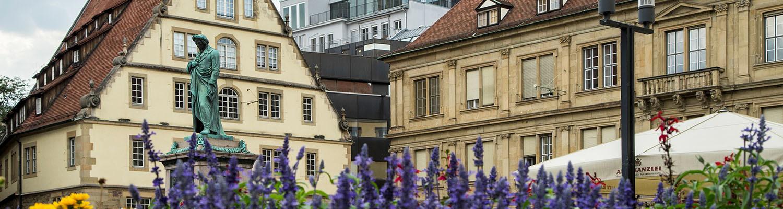 Stuttgart Mitte — Schillerplatz