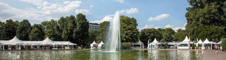 Stuttgart Mitte — City Park Schloßgarten