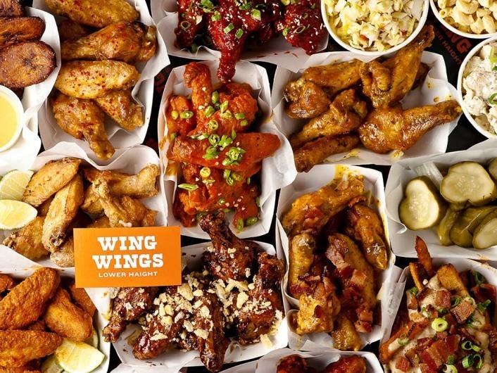 Wing Wings, San Francisco, California, USA