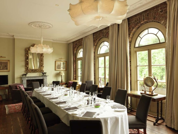 Interior of York & Albany Private Dining