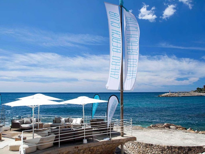 Zhero Beach Club, Mallorca, Spain